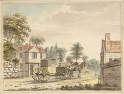 A View of the King's Road, Chelsea